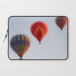 Hot air balloons launching at dawn Laptop Sleeve
