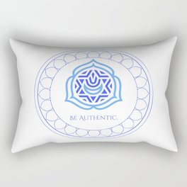 Be Authentic Rectangular Pillow