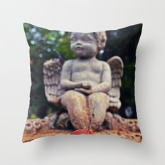 Autumn acorn Throw Pillow