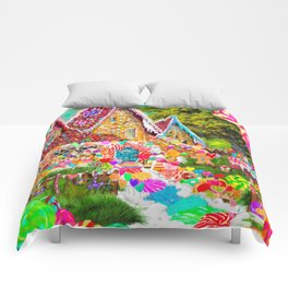 The Gingerbread House Comforters