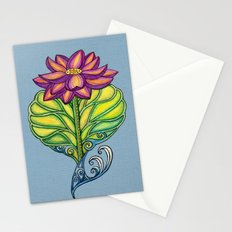 Lotus in Love Stationery Cards