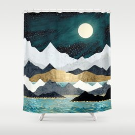 Ocean Stars Shower Curtain