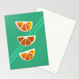 Orange Chew Candy Stationery Cards