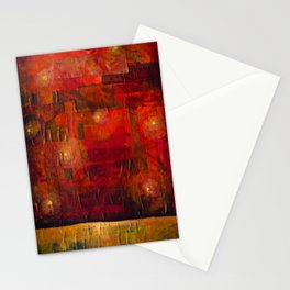 Imaginary Landscapes: Dancing in the Dark Stationery Cards
