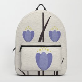 Minimal Bluebells Backpack