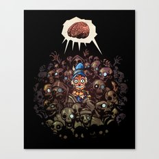 More BRAINS for OZ Canvas Print