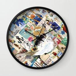 VINTAGE SKI Wall Clock