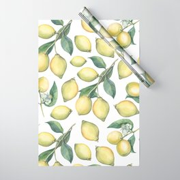 Lemon Fresh Wrapping Paper
