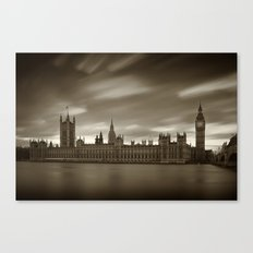 Houses of Parliament with Big Ben, London Canvas Print