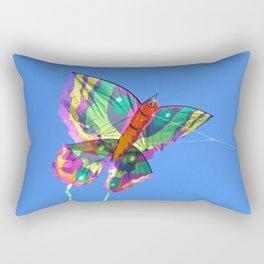 Butterfly Kite Rectangular Pillow