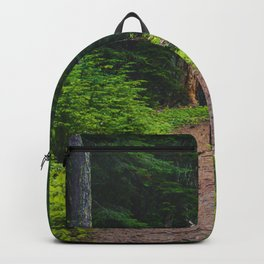 Green Forest Path (Color) Backpack