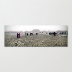 Plaza of the Forbidden City Canvas Print
