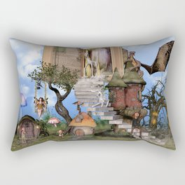 Bringing stories to life Rectangular Pillow