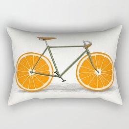 Zest (Orange Wheels) Rectangular Pillow