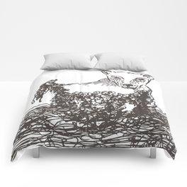 Catledog in one line Comforters