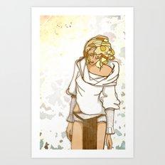 I miss the sun Art Print