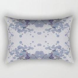 SYM 35 - mixed media symmetry Rectangular Pillow