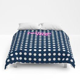 Follow me - girly stuff Comforters