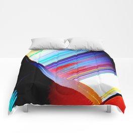 Deep Red Comforters