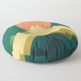 Gold Peak Floor Pillow