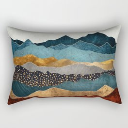 Amber Dusk Rectangular Pillow
