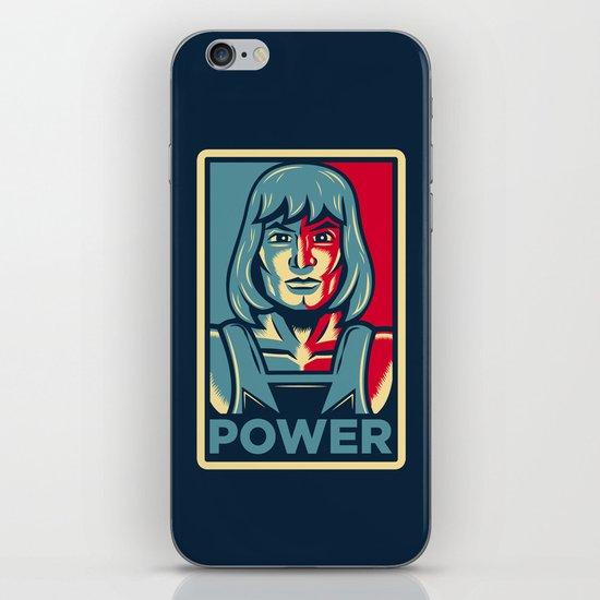 Power....he has it! iPhone & iPod Skin