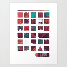 Swatches Art Print