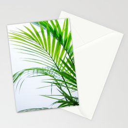 Palm leaves paradise Stationery Cards