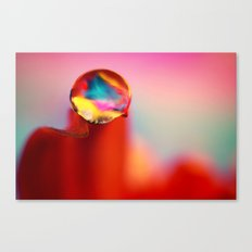 Just a Drop of Water Canvas Print