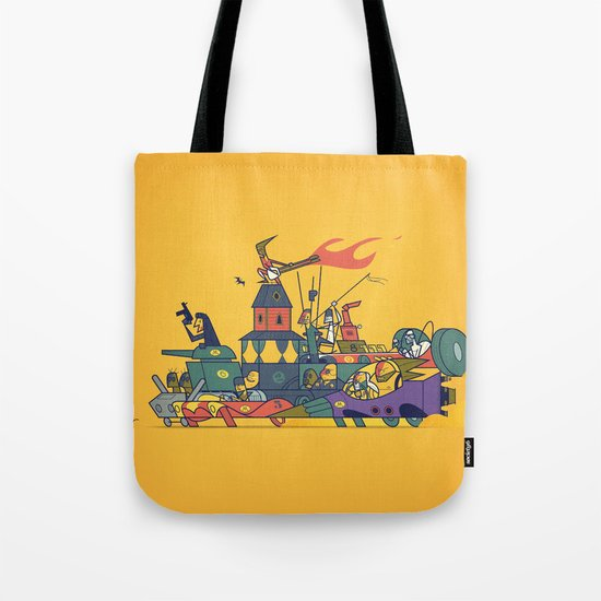 Wacky Max Tote Bag