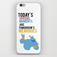 todays special moments are tomorrows memories iPhone & iPod Skin