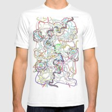 BAL Collaboration  MEDIUM Mens Fitted Tee White