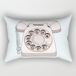 Phone Call Rectangular Pillow