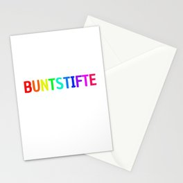 Neither time nor crayons explain gift Stationery Cards