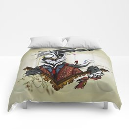 The March Hare Comforters