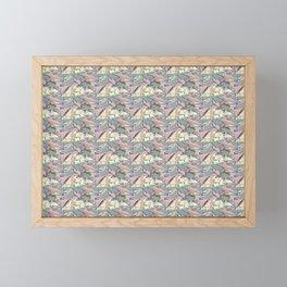 Foiled Framed Mini Art Print