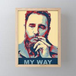 My Way Framed Mini Art Print