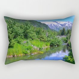 Valley Stream Rectangular Pillow