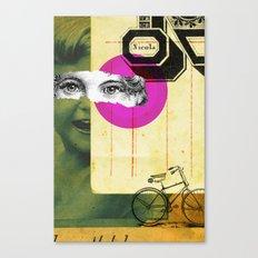 Play hide and seek with petit Nicola Canvas Print