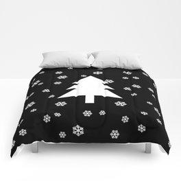 Snowy - black - more colors Comforters