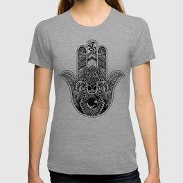 Hamsa Hand English Bulldog T-shirt
