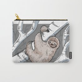 Slothin' it Carry-All Pouch