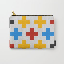 Colorful Cross Carry-All Pouch