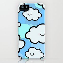 Cheery Cloud Cluster iPhone Case