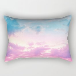 Unicorn Pastel Clouds #3 #decor #art #society6 Rectangular Pillow