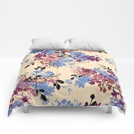 pattern art flower #4 Comforters