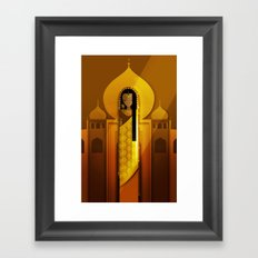 Ladies of Culture Series: India Framed Art Print