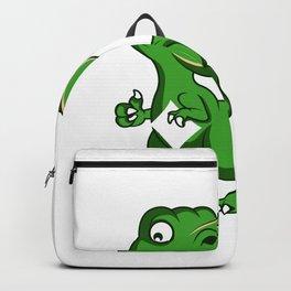 Fax Dinosaur Hardworker Gift Backpack