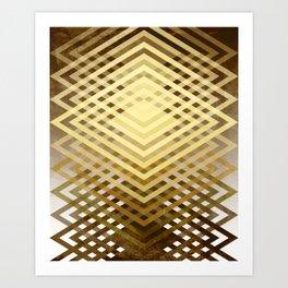 CUBIC DELAY Art Print