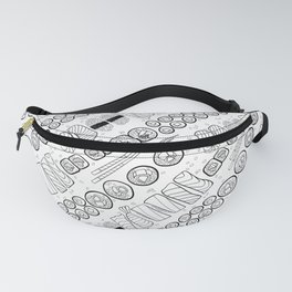 Sushi Coloring Fanny Pack